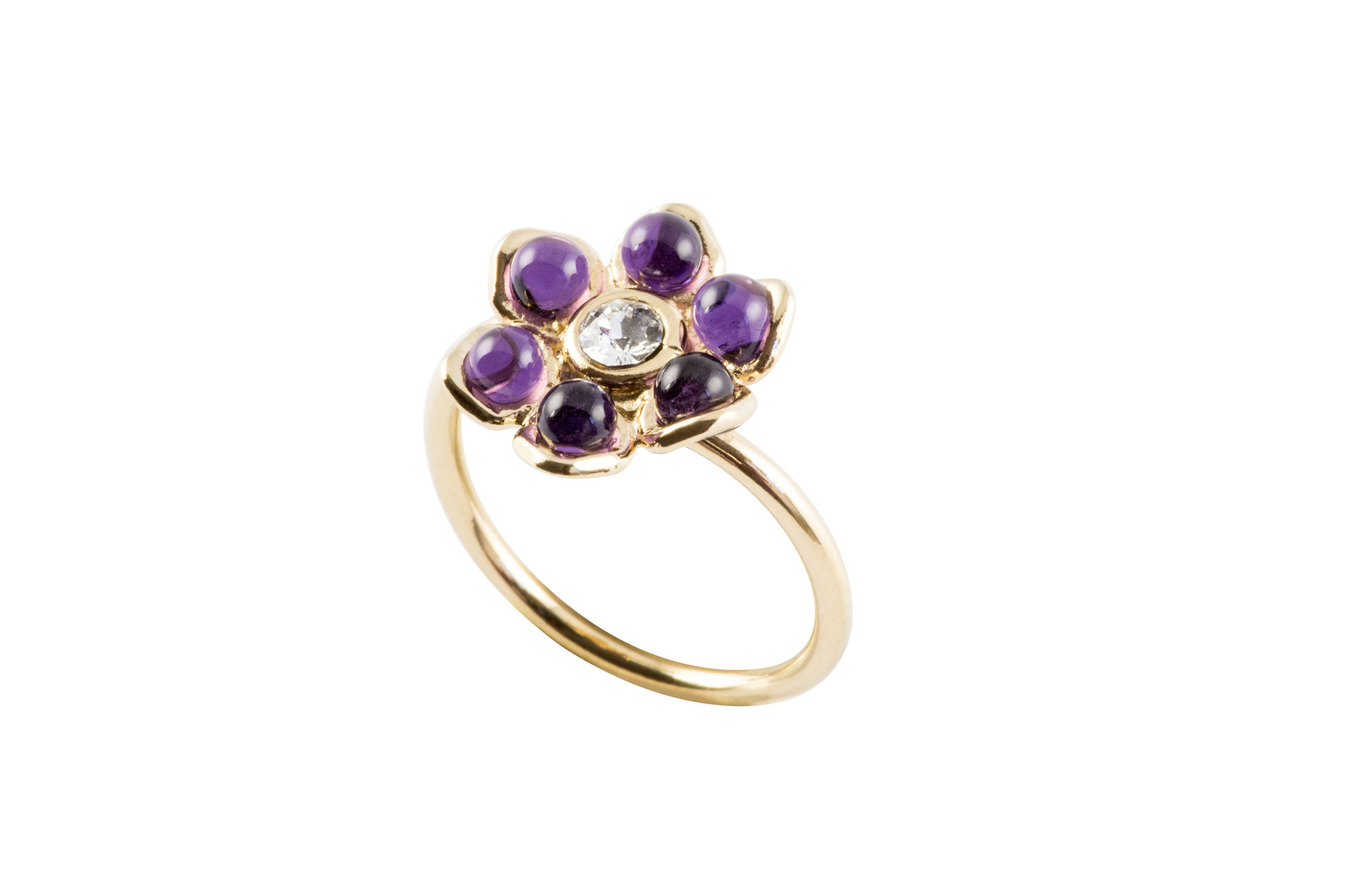Glamour One Flower Ring