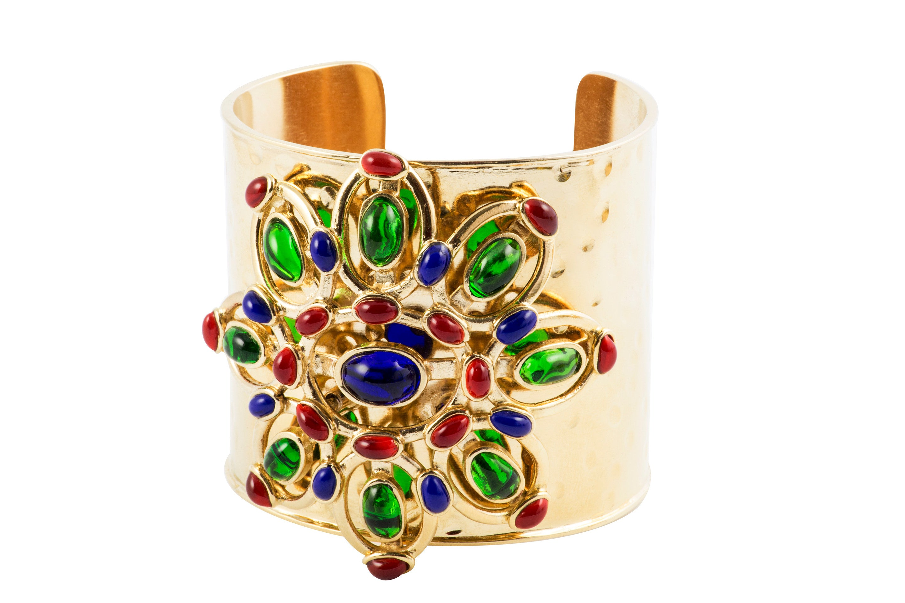 Plumetis Statement Adjustable Cuff