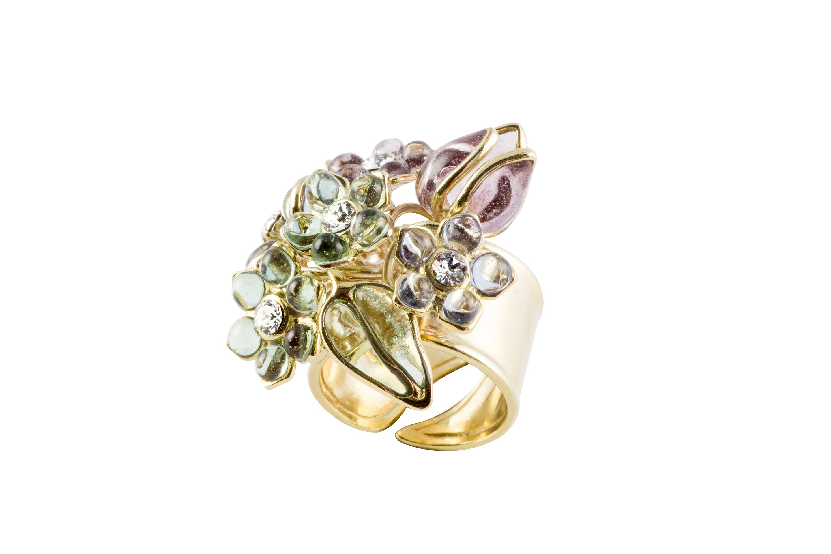 Glamour Bouquet Ring