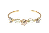 Glamour Open Bangle Bracelet