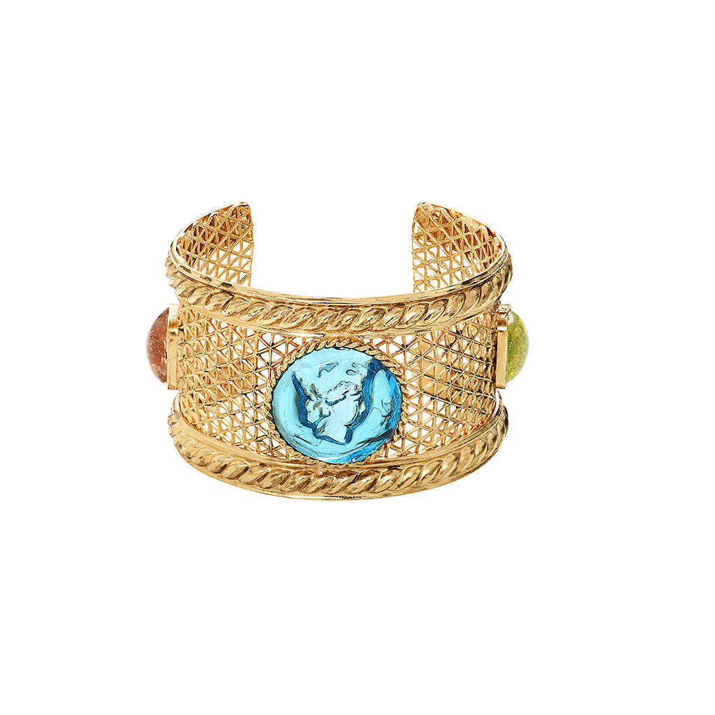 Back to Rome Intaille Cuff