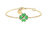 Big Clover Chain Bracelet