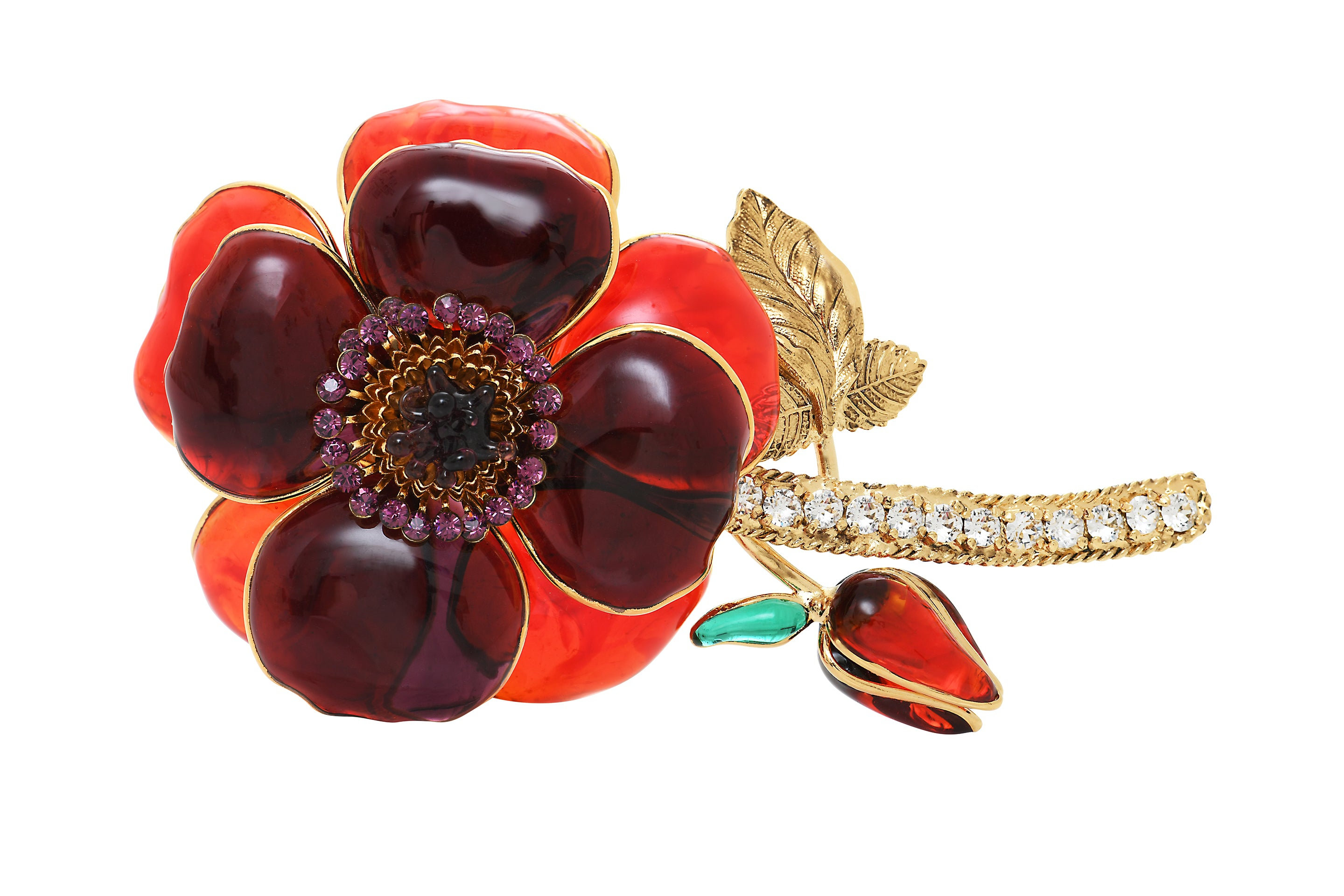 Pop Glamour Statement Brooch
