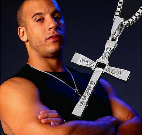 The Fast And The Furious Dominic Toretto Cross Necklaces