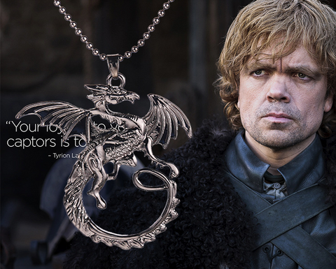 A Song of Ice and Fire Targaryen dragon necklaces