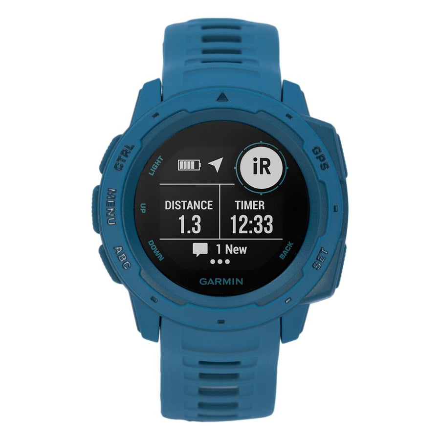 010-02064-04-Garmin Unisex 010-02064-04  Instinct™ Lakeside Blue Watch