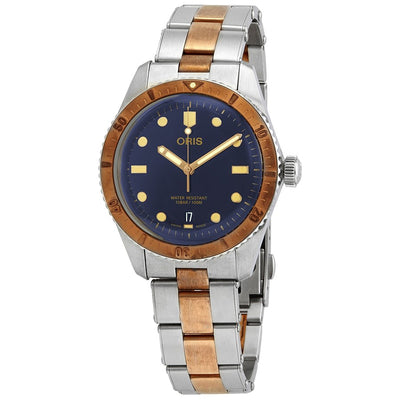 01 733 7707 4355-07 8 20 17-Oris 01 733 7707 4355-07 8 20 17 Divers 65 Blue Dial Watch