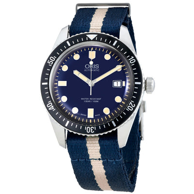 01 733 7720 4055-07 5 21 29FC-Oris 01 733 7720 4055-07 5 21 29FC Divers 65 Blue Dial Watch