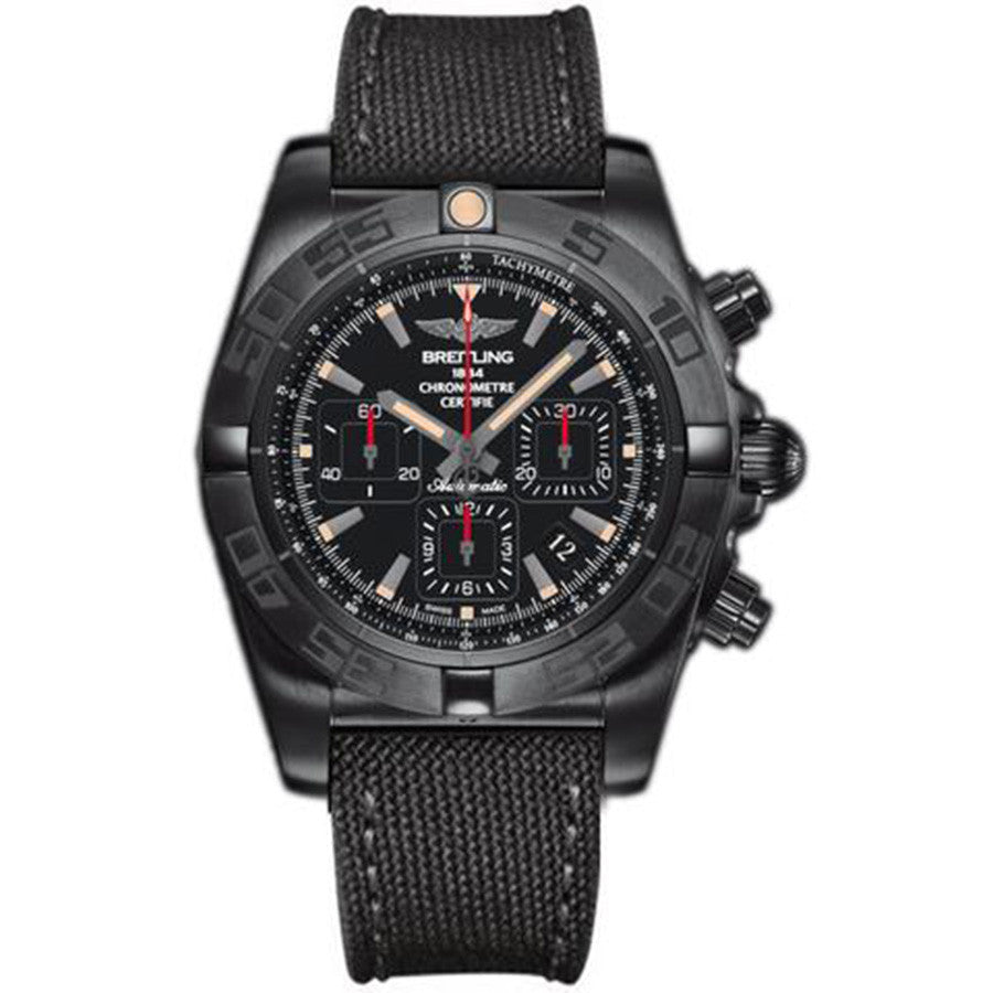 Breitling Men's MB0111C3/BE35/253S Chronomat 44 Blacksteel Auto Watch