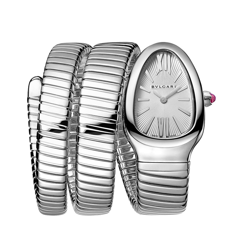 101911 -Bulgari Ladies 101828 Serpenti Tubogas Double Spiral Watch