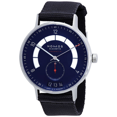 1302-Nomos Men's 1302 Autobahn Neomatik Watch