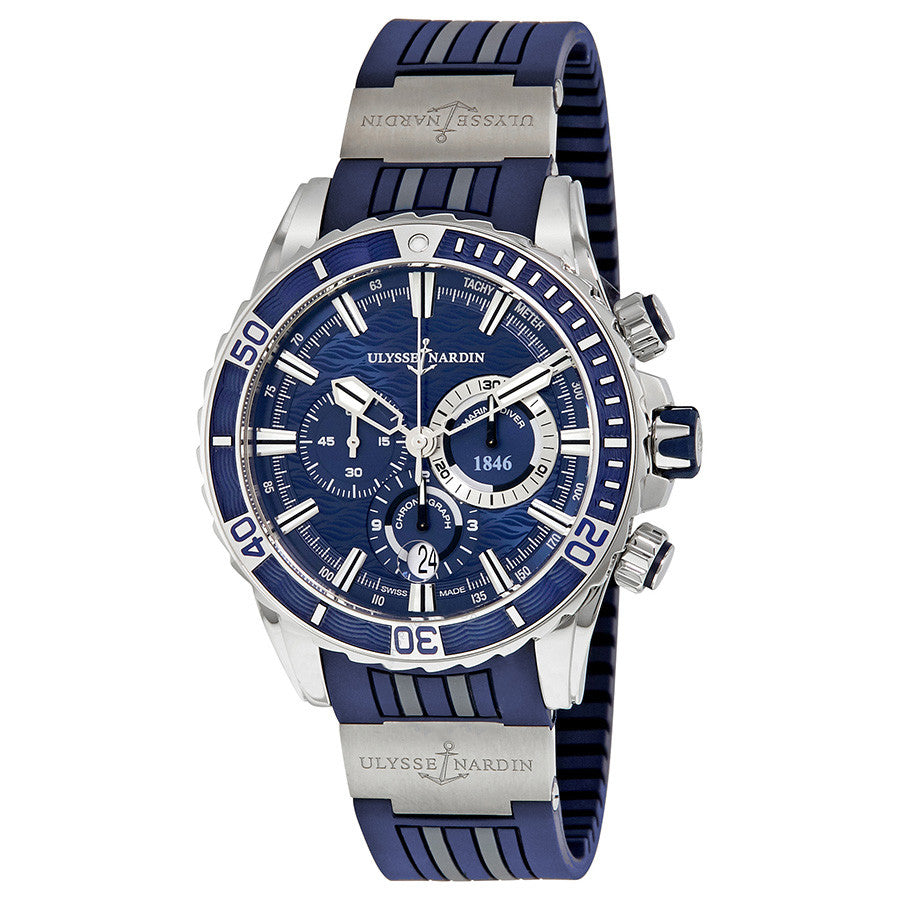 1503-151-3/93-Ulysse Nardin 1503-151-3/93 Driver Chronograph Blue Watch