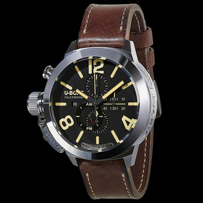 U-BOAT MEN'S 8077 CLASSICO 50 TUNGSTENO CAS 1 MOVELOCK WATCH