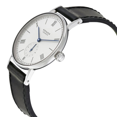 201-Nomos Glashutte 201 Ludwig White Dial Watch