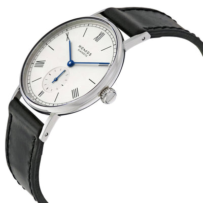 205-Nomos Glashutte Men's 205 Ludwig White Dial Watch
