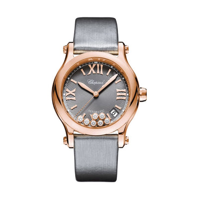 274808-5012-Chopard Ladies 274808-5012 Happy Sport Watch