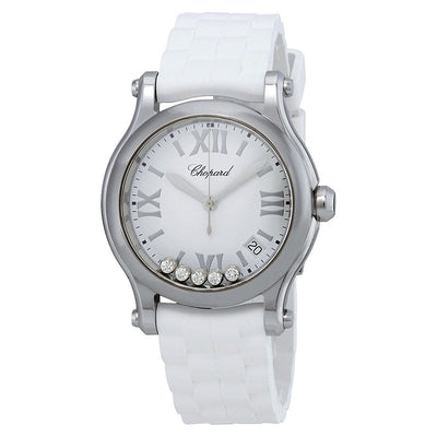 278582-3001-Chopard Ladies 278582-3001 Happy Sport Watch