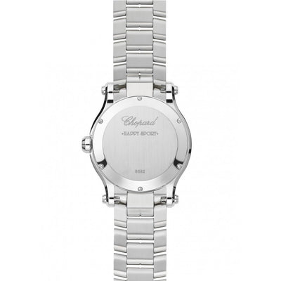 Chopard Ladies 278582-3002 Happy Sport  5-Diamonds Watch