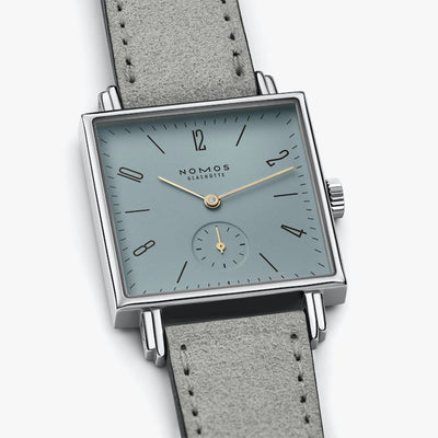 448-Nomos Glashutte 448 Tetra Immortal Beloved Turquoise Watch