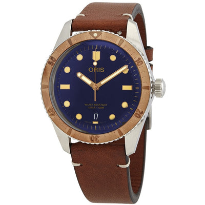 01 733 7707 4355-07 5 20 45-Oris 01 733 7707 4355-07 5 20 45 Divers 65 Blue Dial Watch