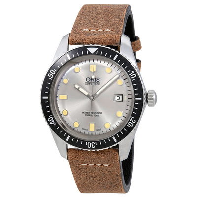 01 733 7720 4051-07 5 21 02-Oris 01 733 7720 4051-07 5 21 02 Divers 65 Silver Dial Watch
