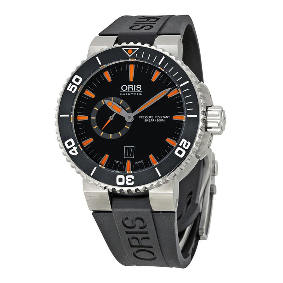 01 743 7673 4159-07 4 26 34EB-Oris 743 7673 4159-07 4 26 34EB Aquis The Seas Of Time Watch