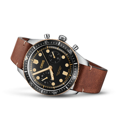 01 771 7744 4354-07 5 21 45-Oris Men's 01 771 7744 4354-07 5 21 45 Divers Chronograph