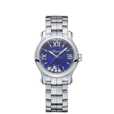 278573-3007-Chopard Ladies 278573-3007 Happy Sport Watch