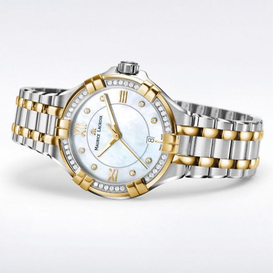 AI1004-DY503-171-1-Maurice AI1004-DY503-171-1 Gold PVD Diamonds 30mm