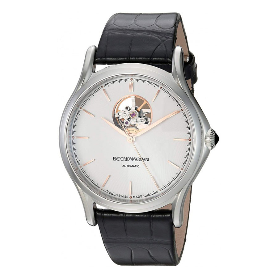 ARS3303-Emporio Armani Men's ARS3303 Swiss Made White Dial Watch