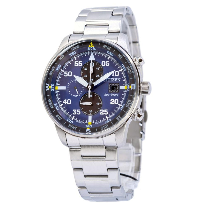 CA0690-88L-Citizens Men's CA0690-88L Aviator Chrono Watch