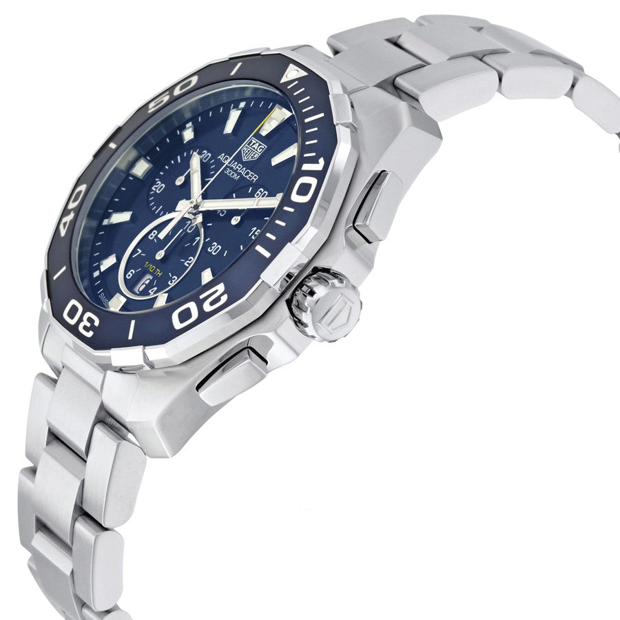 CAY111B.BA0927-Tag Heurer Men's CAY111B.BA0927 Aquaracer Chronograph Watch