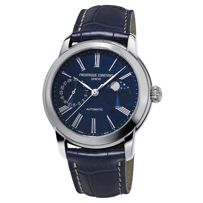 FC-712MN4H6-Frederique Constant FC-712MN4H6 Moonphase Blue Watch