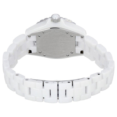 H1628-Ladies H1628 J12 White Quartz  Diamonds Watch