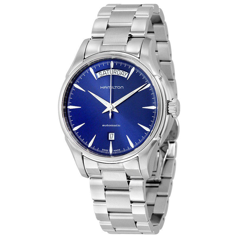 H32505141-Hamilton Men's H32505141 Jazzmaster Blue Dial Watch