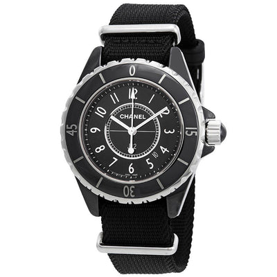 H4557 -Chanel J2 Ladies H4557 Black Dial Watch