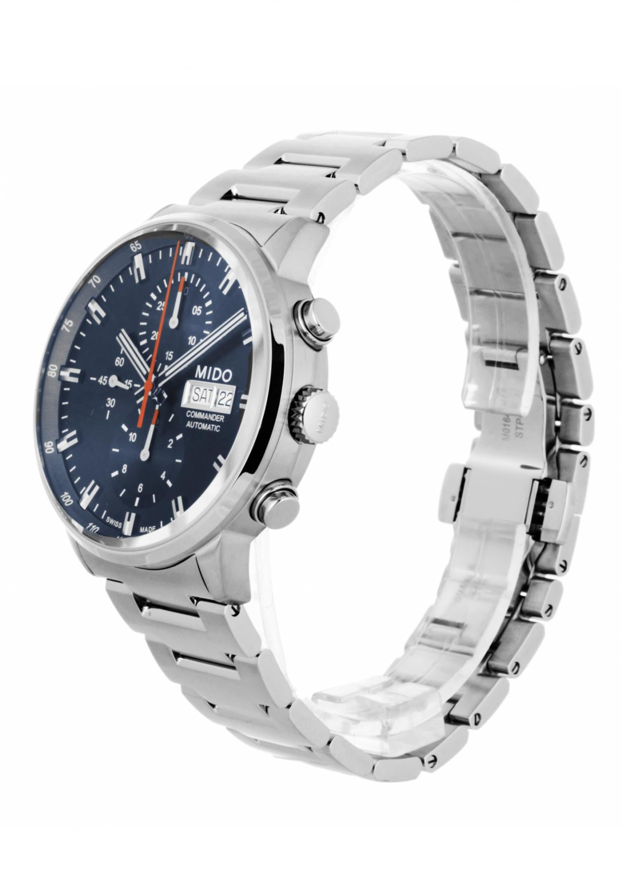 Mido Men's M0164141104100 Commander II Chronograph Watch