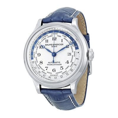 M0A10106-Baume et Mercier Men's M0A10106 Capeland Worldtimer Watch