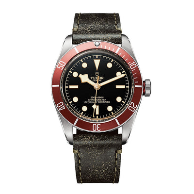 Tudor Men's M79230R-0006 Heritage Black Bay Watch