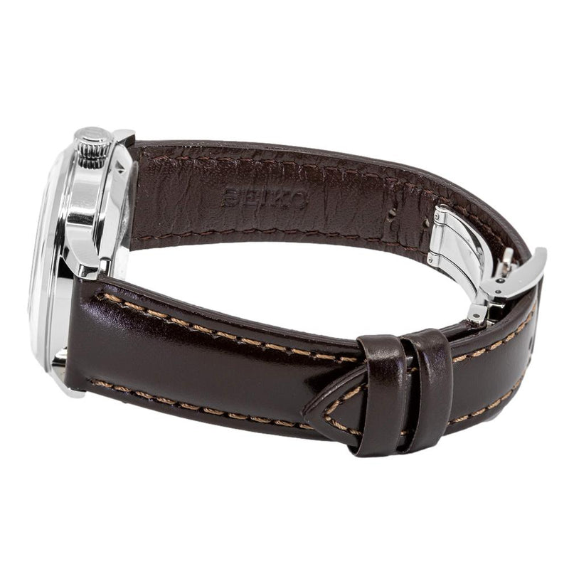 SSA783J1-Seiko Ladies SSA783J1 Presage Brown Dial Watch