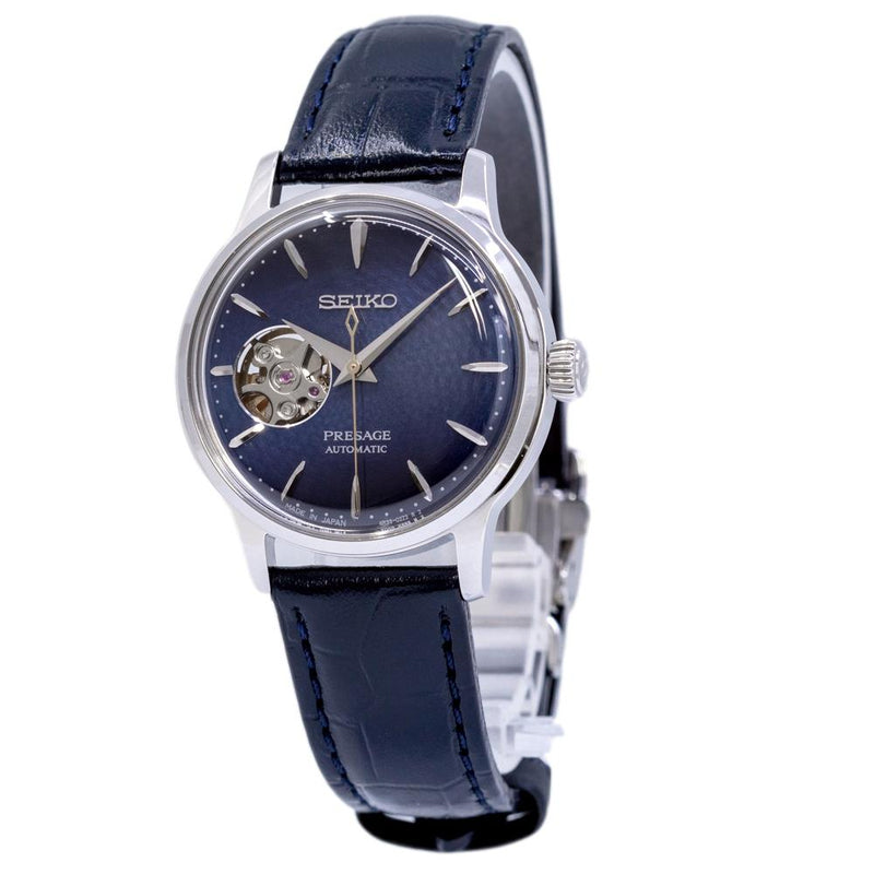 SSA785J1-Seiko Ladies SSA785J1 Presage Blue Dial Watch
