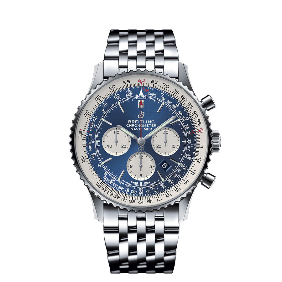 Men's AB0127211C1A1 Navitimer 1 B01 Chronograph Watch