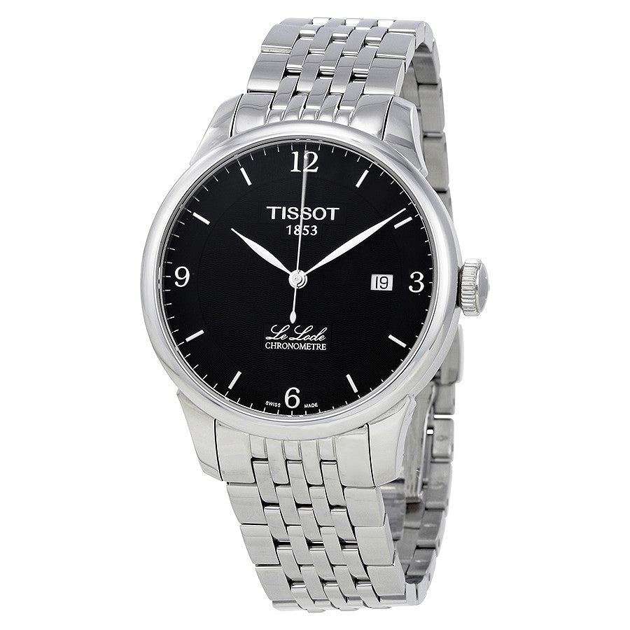 T006.408.11.057.00-Tissot Men's T006.408.11.057.00  Black Dial Watch