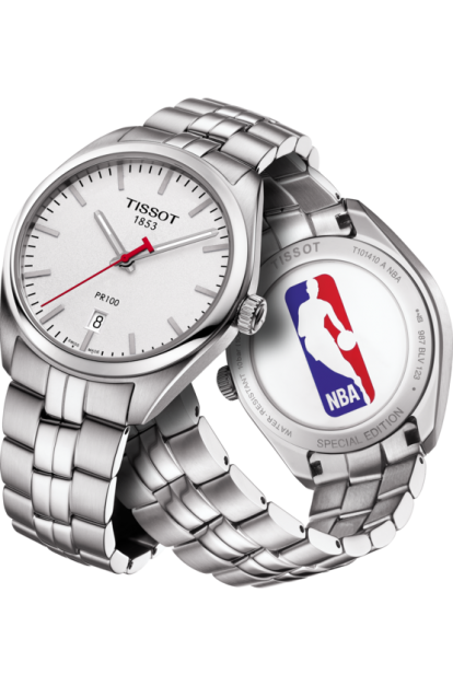 Tissot Men's T1014101103101 Special Collection NBA PR100 Watch