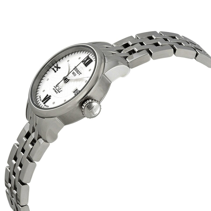 T41118316-Tissot Ladies T41.1.183.16 Le Locle Silver Dial Watch