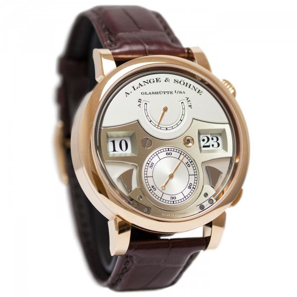 A. Lange & Sohne Men's 145.032 Zeitwerk Striking Time Watch