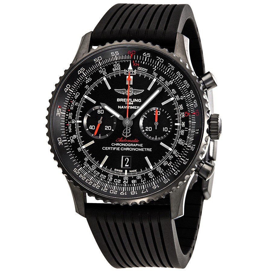 Breitling Men's MB012822/BE51/252S Navitimer 01 (46 MM) Rubber Strap