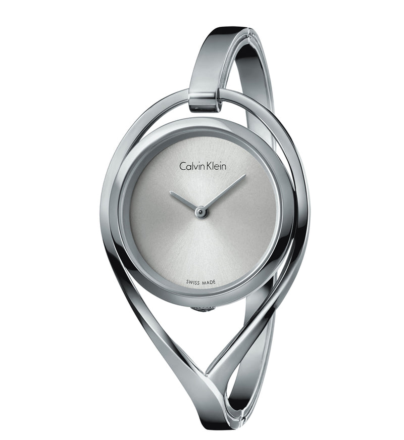 ck Calvin Klein Ladies K6L2S116 Light Small Silver Tone Stainless Steel Watch