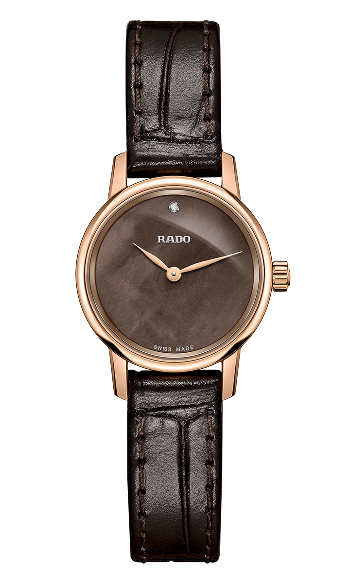 Rado R22891935 Coupole Classic Quartz 21mm Ladies Watch