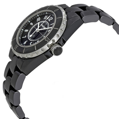 Chanel Ladies H0682 J12 Quartz Black Ceramic Watch